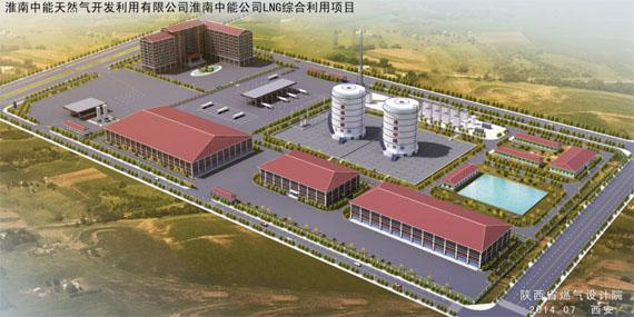 淮南中能LNG综合利用项目